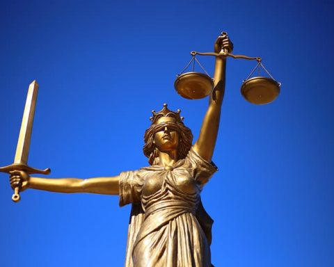 Statue of Lady Justice. Symbolism can be used to relay why justice matters.